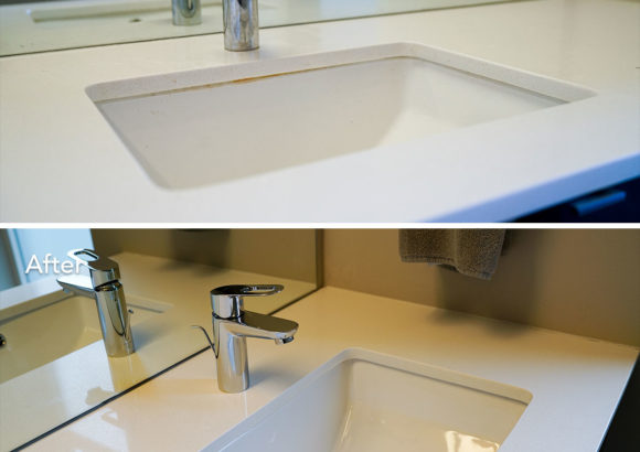 Home Cleaning Modern Sink