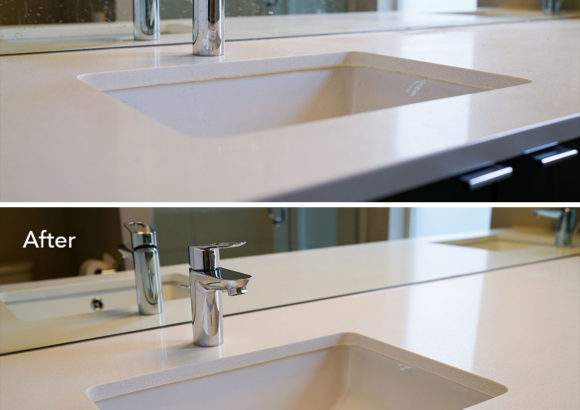 Issaquah Home Cleaning Modern Sink