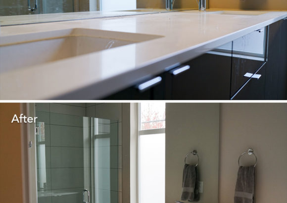 Seattle Home Cleaning Modern Bathroom