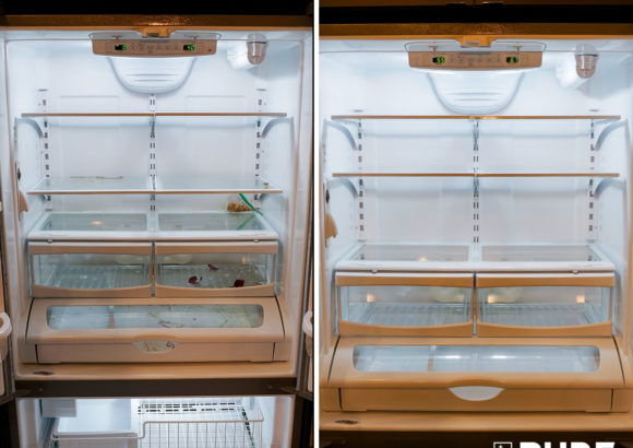 Seattle Home Cleaning Fridge