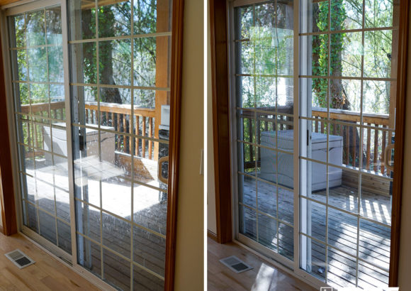 Seattle Home Cleaning Patio Doors