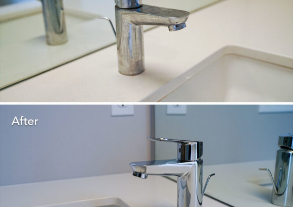 Seattle Home Cleaning Sink