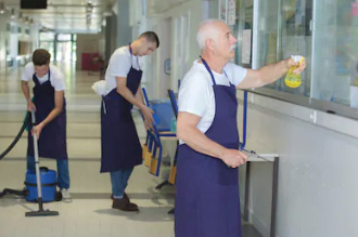 Commercial and janitorial cleaning services