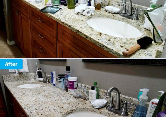 Seattle House Cleaning Sink