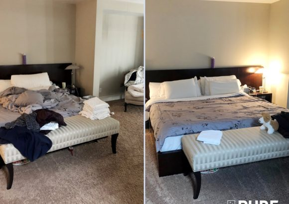 Seattle Home Cleaning Bedroom