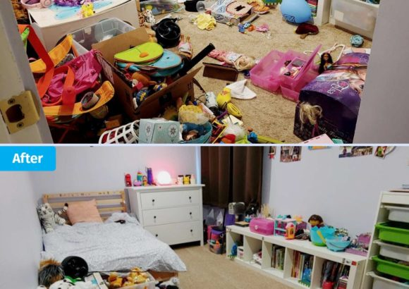 Bellevue Home Cleaning Childrens Room