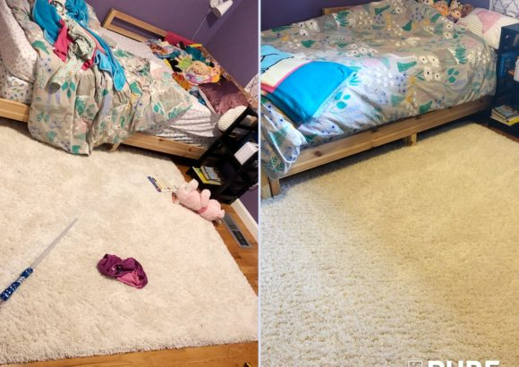 Seattle Home Cleaning Bed