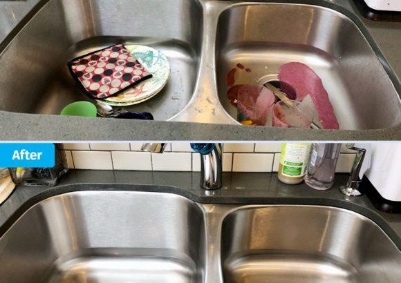 Renton Home Cleaning Kitchen Sink