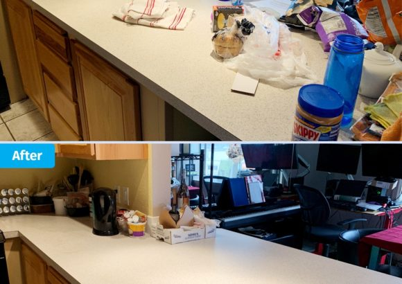 House Cleaning Countertop