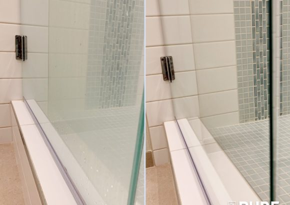 Home Cleaning Shower Glass