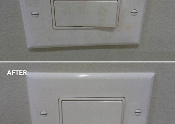 Home Cleaning Switch Before After
